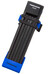 Trelock FS 200 TWO.GO L slot 100 cm blauw